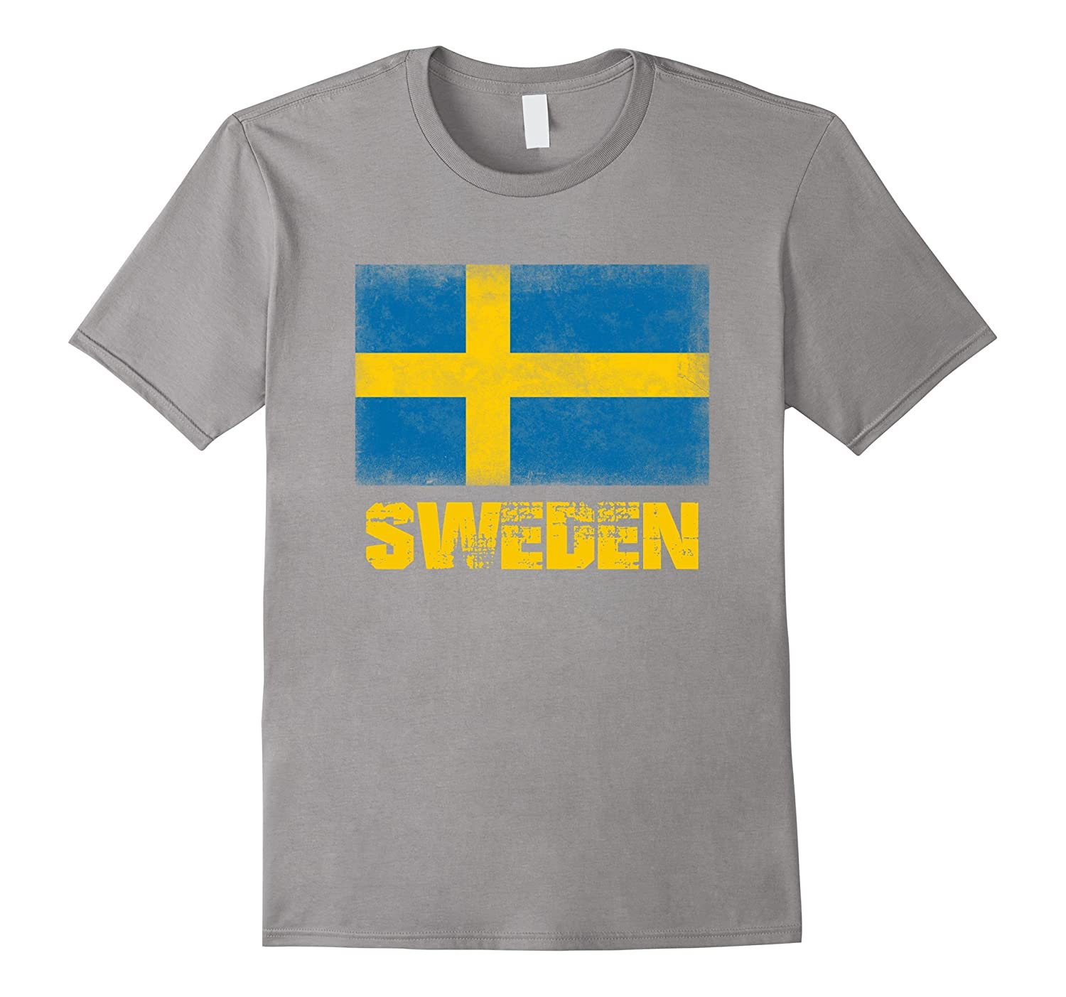 Flag of Sweden Swedish Flag Sverige Pride Flag T-Shirt-RT