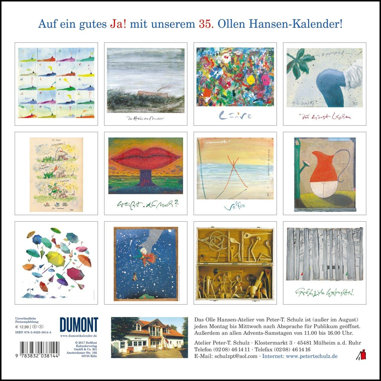 Der Olle Hansen 2018 9783832038144 Amazoncom Books