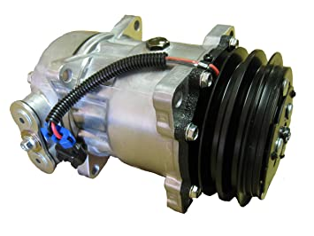 Amazon.com: Freightliner Kenworth Peterbilt Sanden Type AC Compressor with Clutch 4041: Beauty