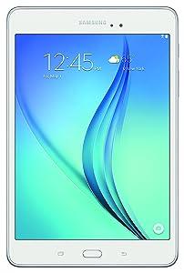 Samsung Galaxy Tab A 8-Inch Tablet (16GB, White)