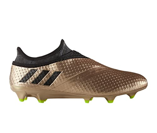 adidas Messi 16+ Pureagility FG, Bota de fútbol, Copper Metallic-Core Black-Solar Green: Amazon.es: Zapatos y complementos