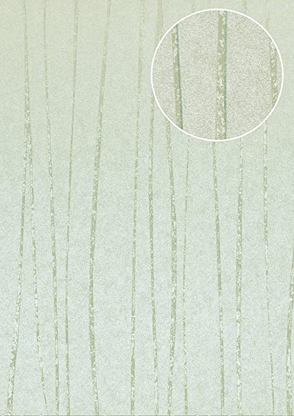 Stripes Wallpaper Wall Atlas COL 569 8 Non Woven Smooth Design Shimmering