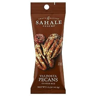 Sahale Snacks Grab & Go Glazed Nut Mix, Valdosta Pecans, 1.5 Ounce (Pack of 18)