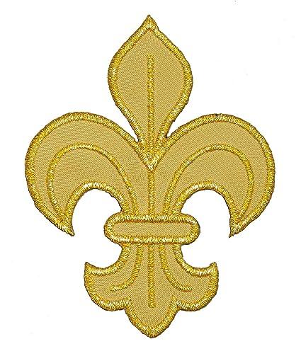 Amazon Gold Fleur De Lis Boy Girl Scout Scout Diy Applique