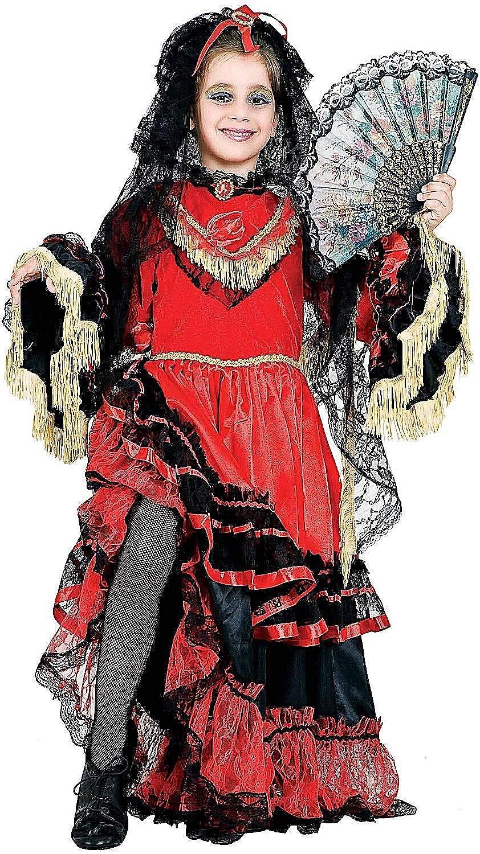 Disfraz Beb ESPAOLA Vestido Fiesta de Carnaval Fancy Dress Disfraces Halloween Cosplay Veneziano Party 3804