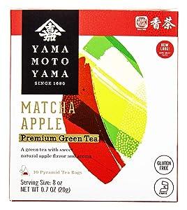 Yamamotoyama Matcha Apple Premium Green Tea
