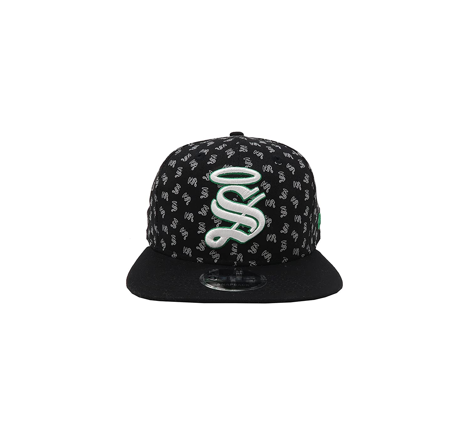 New Era 9Fifty Hat Santos Laguna Soccer Club Liga Mx Black Mini S Logos Snapback at Amazon Mens Clothing store: