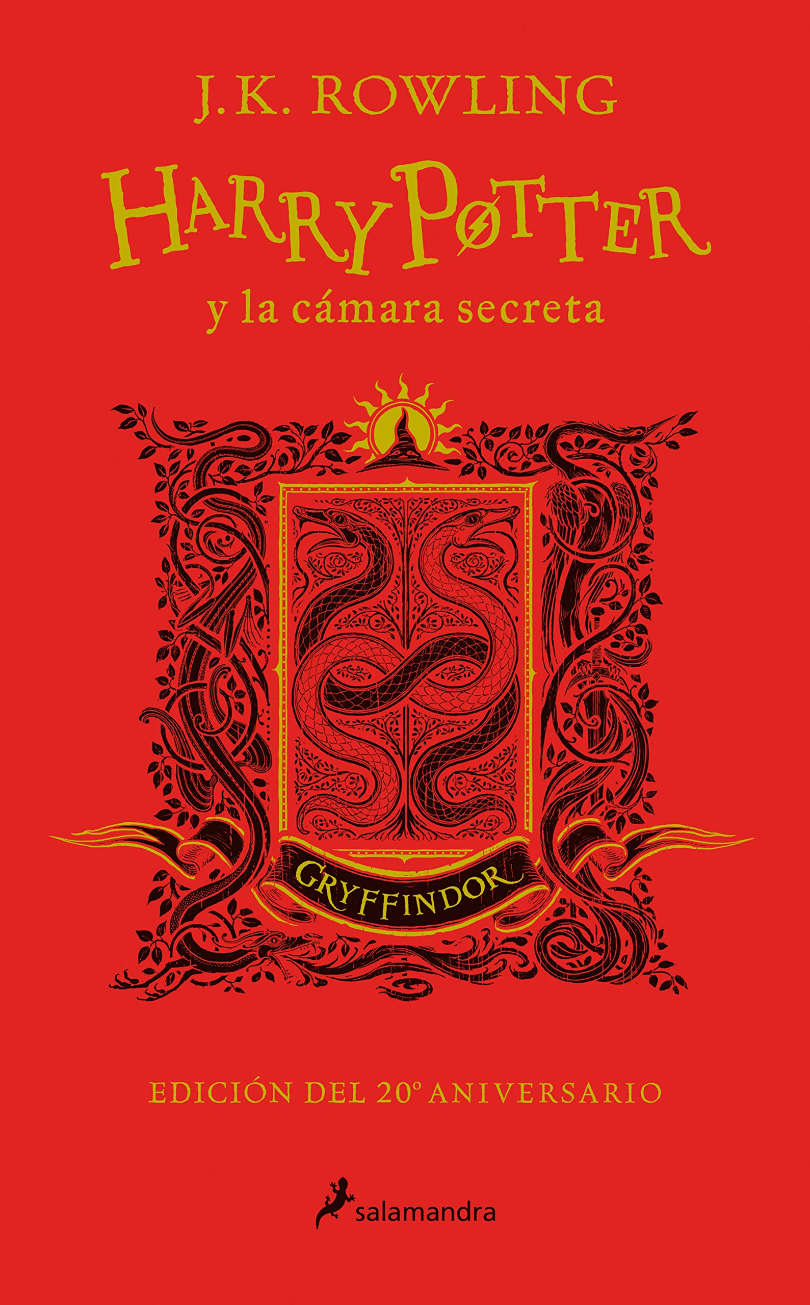 Harry Potter y la cámara secreta edición Gryffindor del 20º ...