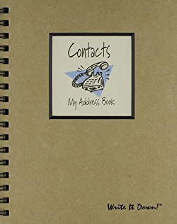 product image for Journals Unlimited JU-20 Contacts - My Address Book
