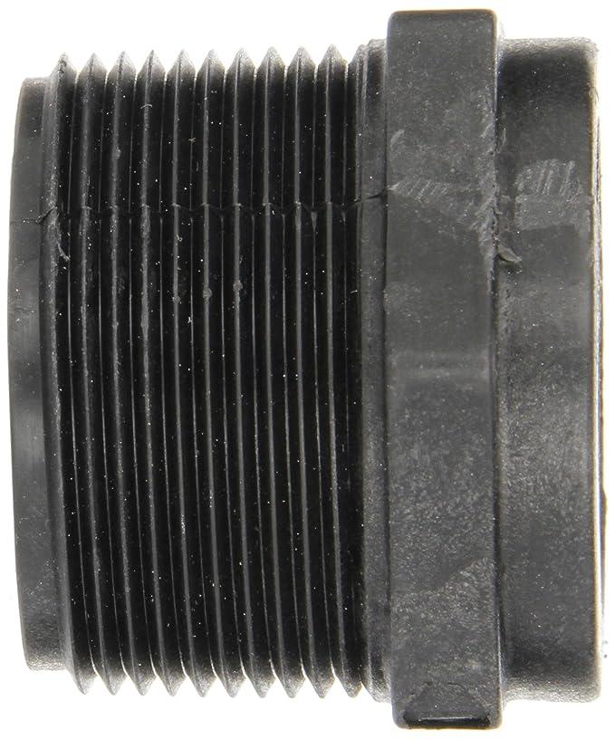 RB150-100 Acoplamiento de tubería de polipropileno, buje reductor, horario 80, 1-1 / 2 NPT macho x 1