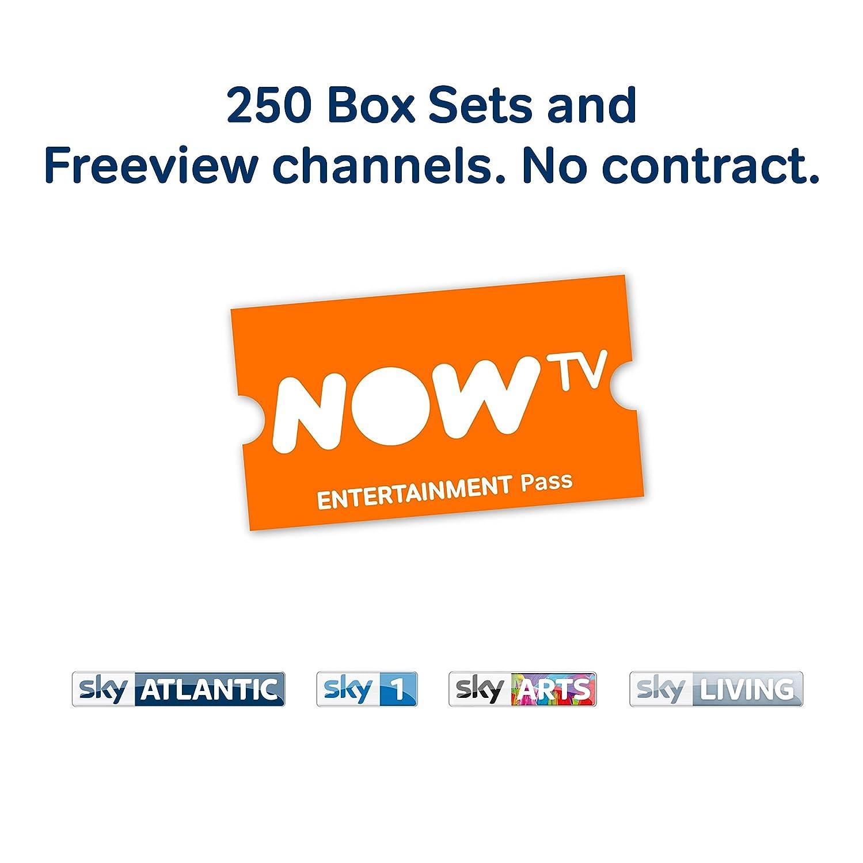 NOW TV Smart Freeview Box – 3 Month Unlimited Entertainment Voucher Bundle