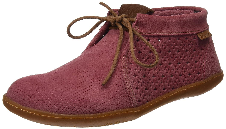 El Naturalista Ne09 Lux Suede El Viajero, Zapatos de Cordones Brogue para Mujer 39 EU Rosa (Rose)