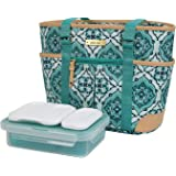 Arctic Zone Ladies Lunch Tote Insulated Bucket - Mandala Doodle