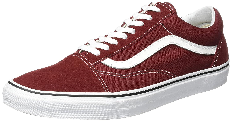 Vans Unisex Old Skool Classic Skate Shoes B01MQUC60A 14.5 B(M) US Women / 13 D(M) US Men|Madder Brown/True White