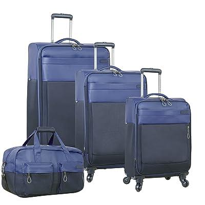 Nautica 4 Piece Spinner Luggage Set