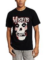 Impact Merchandising Men's Bloody Misfits Skull T-Shirt