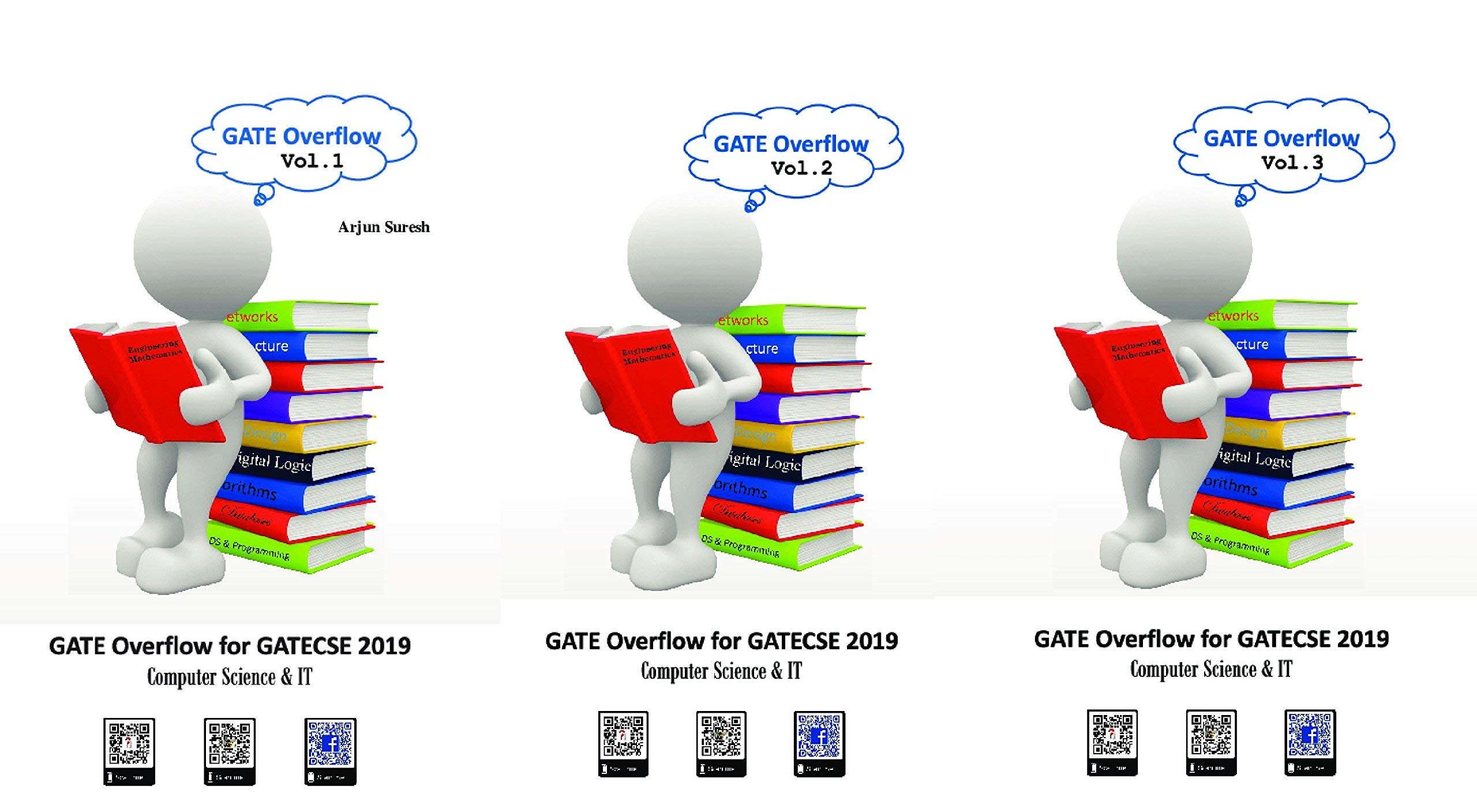 Buy GATE Overflow Book for GATE Computer Science 2019 (3