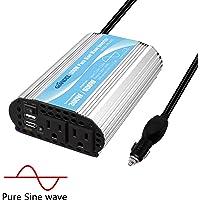 Giandel 300-watt Pure Sine Wave Car Power Inverter