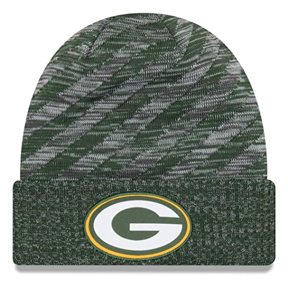 New Era Green Bay Packers Beanie on Field 2018 TD Knit