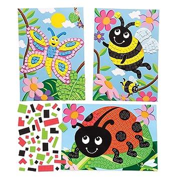 Baker Ross Kits De Dibujos De Insectos Para Decorar Con