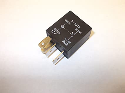 4 Pin 12v 20amp Automotive Micro Relay Make and Break Car ...  Pin Micro Relay Wiring on