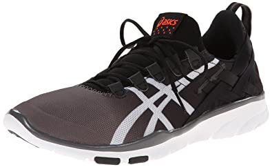 ASICS Women's GEL-Fit Sana Cross-Training Shoe, Black/White/Coral