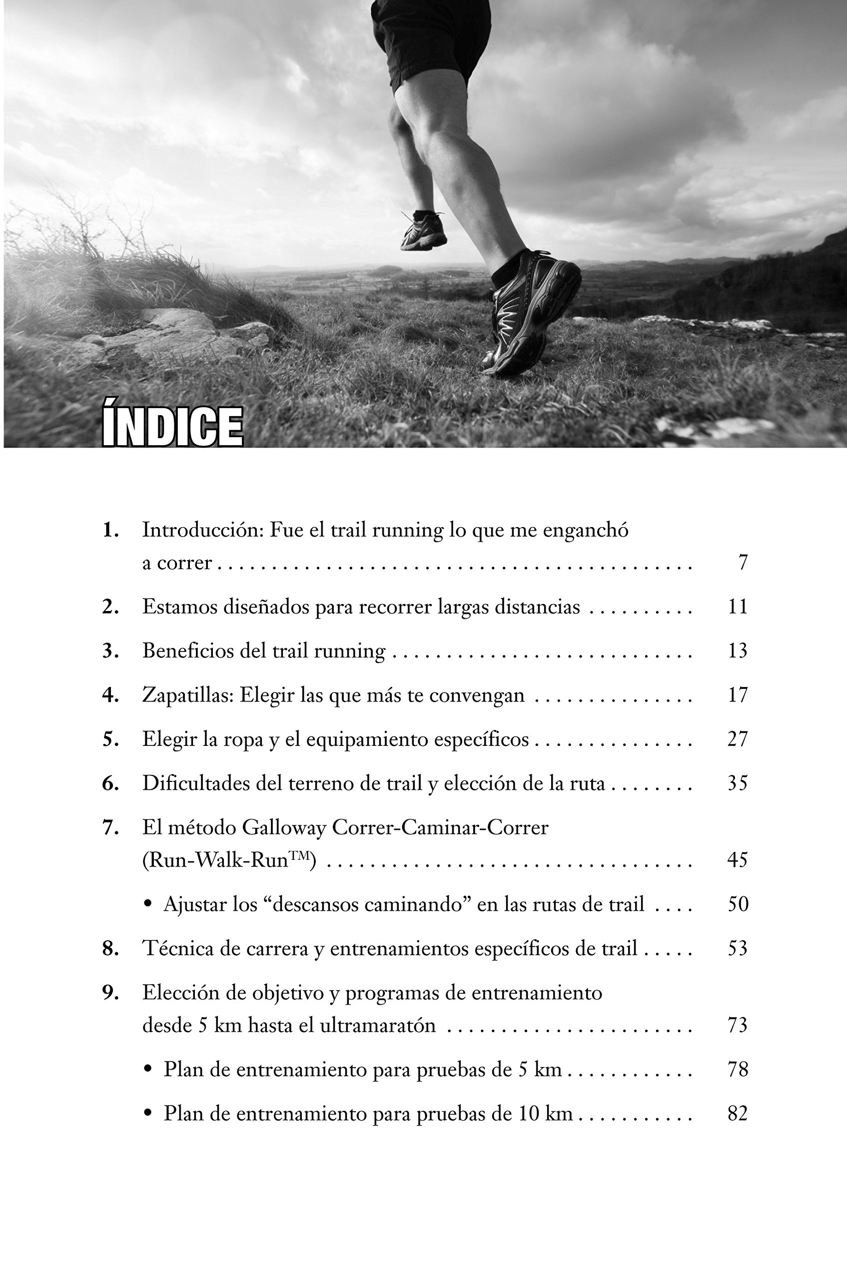 GUIA PARA EL CORREDOR DE MONTAÑA:TRAIL RUNNING: GALLOWAY(029883): 9788479029883: Amazon.com: Books