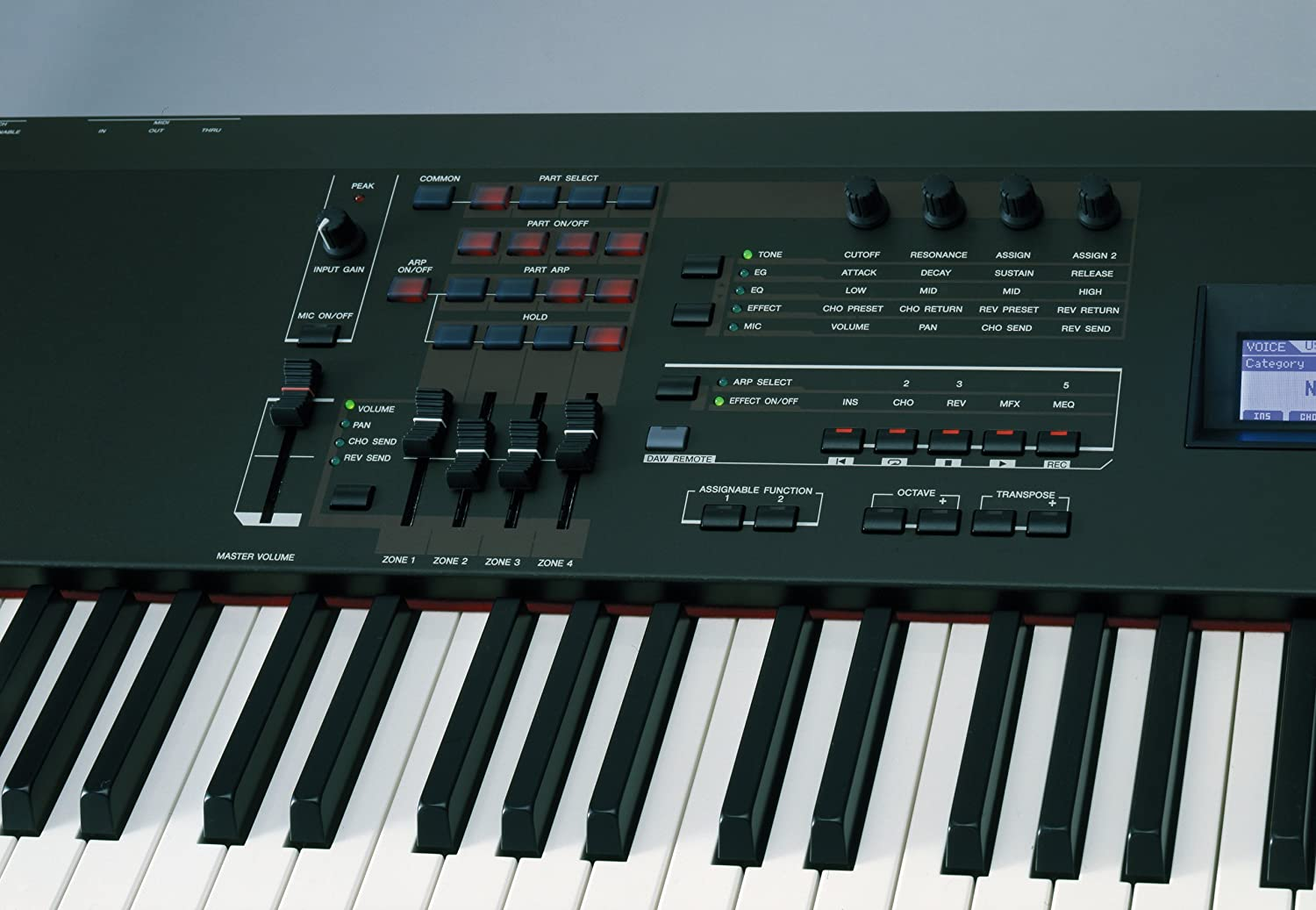 Amazon.com: Yamaha S90XS Synthesizer; 88-Note Balanced Hammer-Weighted  Action: Musical Instruments