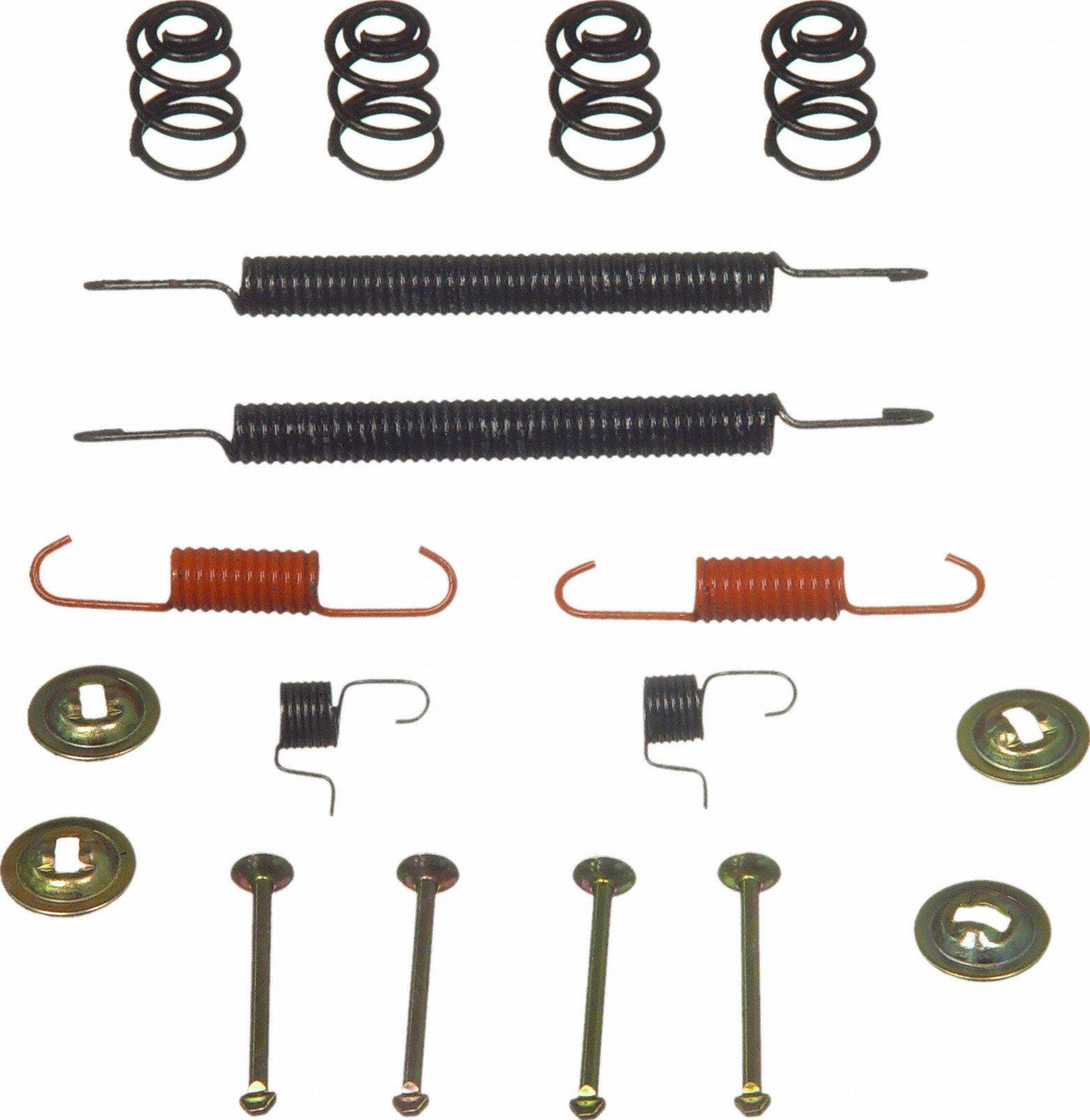Wagner H17259 Rear Drum Brake Hardware Kit