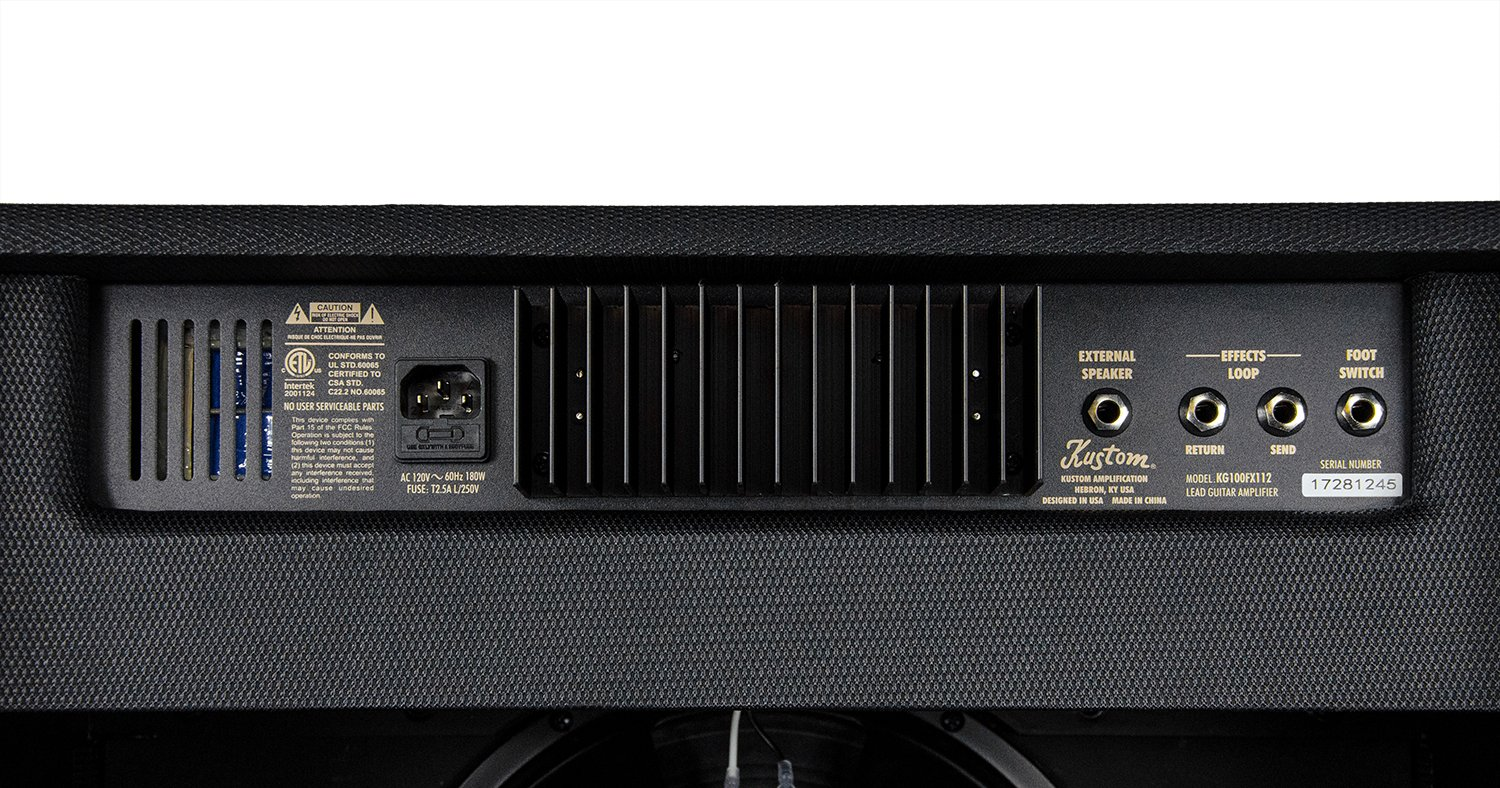 Picture Gifts Kustom kg100fx112 amplificador combo para guitarra 100 W RMS: Amazon.es: Instrumentos musicales