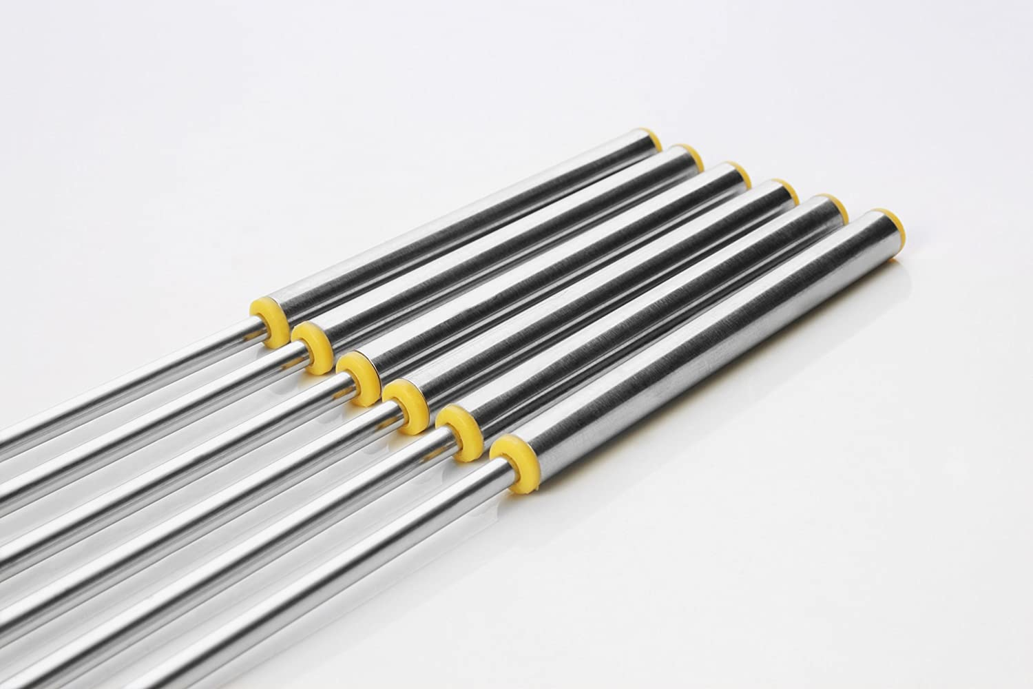 Set of 6 Artestia Stainless Steel Cheese Fondue Forks with Heat Resistant Handle 10.2 inch AR-81002