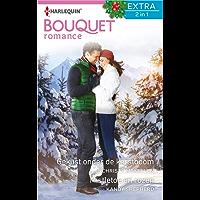 Gekust onder de kerstboom ; Mistletoe en rozen (Bouquet Extra Book 484)