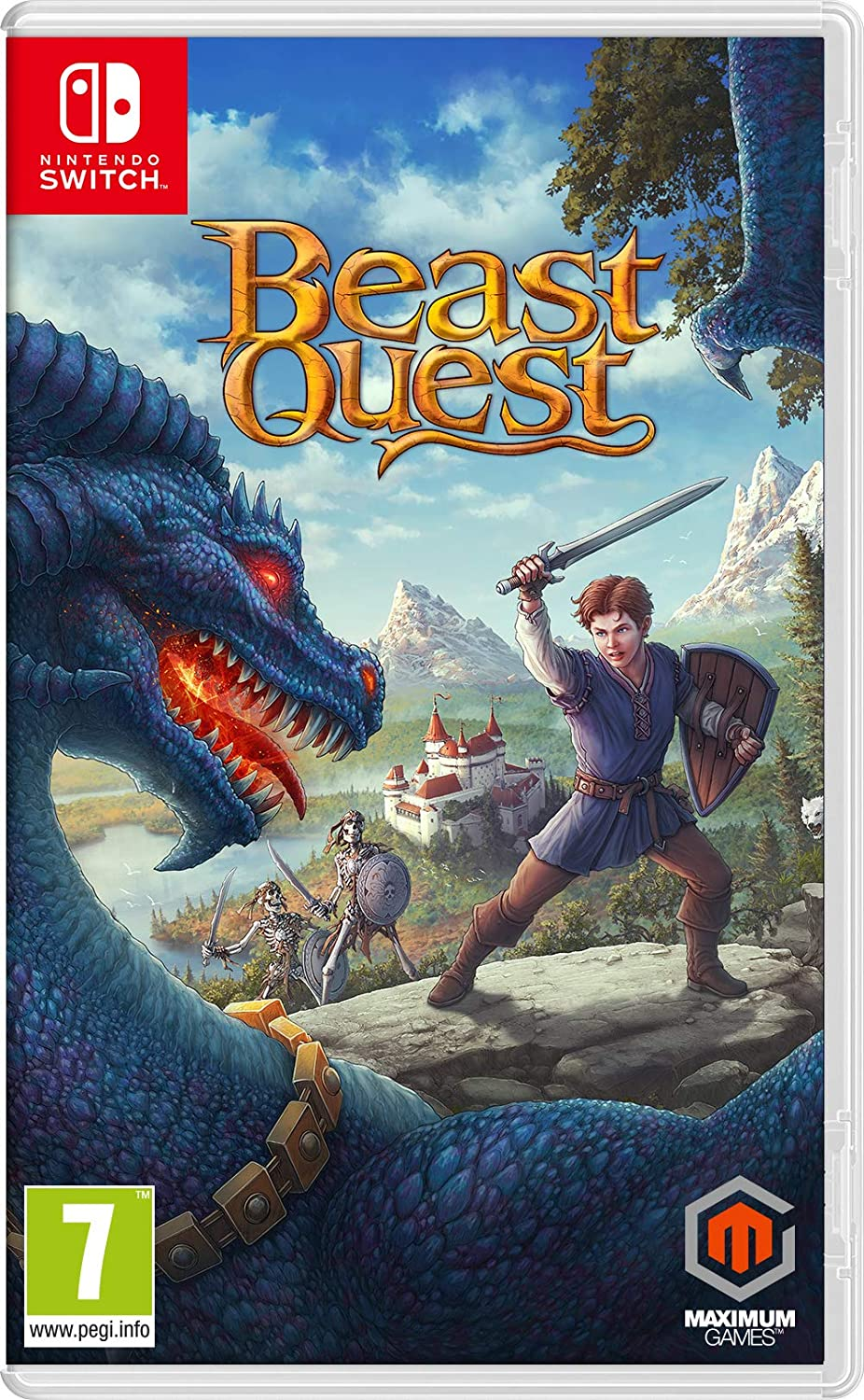 Beast Quest - Nintendo Switch [Importación inglesa]: Amazon.es ...