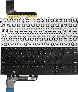Zahara Black Frame US Keyboard Replacement for Lenovo Ideapad 100 14 100-14IBY 9Z.NCMSN.001 Win8