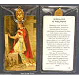 St Philomena ~ Prayer Card and Medal