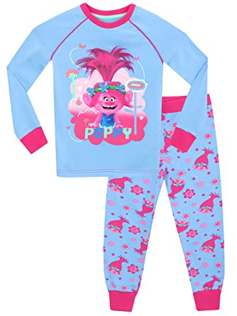 Trolls Girls Poppy Pajamas Size 3T