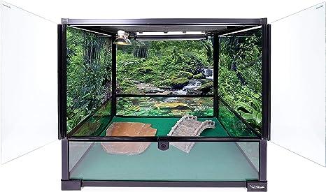 Carolina Custom Cages Terrarium Tall Medium 24Lx18Dx24H; Easy Assembly