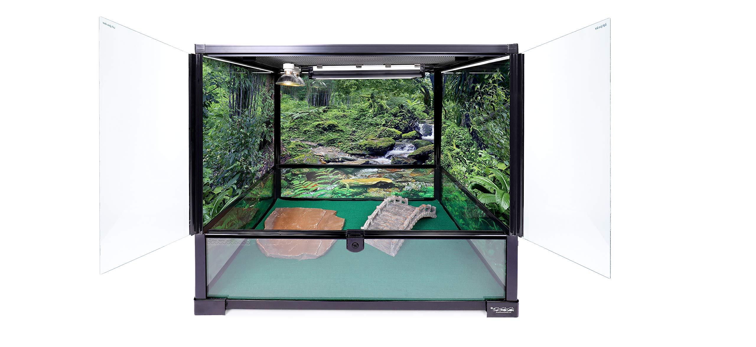 Carolina Custom Cages Terrarium, Tall Medium 24Lx18Dx24H; Easy Assembly by Carolina Custom Cages