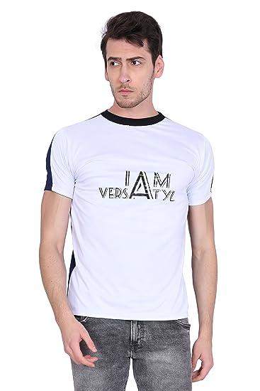 49b862c6550 VERSATYL - Stylish Round Neck T-Shirts for Men. Use It for Sports ...