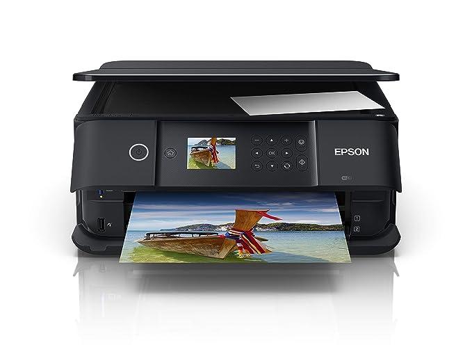 Epson Expression Premium XP-6100 - Impresora multifunción (Inyección de Tinta, 5760 x 1440 dpi, 100 Hojas, A4, Impresión Directa, Negro), Ya Disponible en Amazon Dash Replenishment