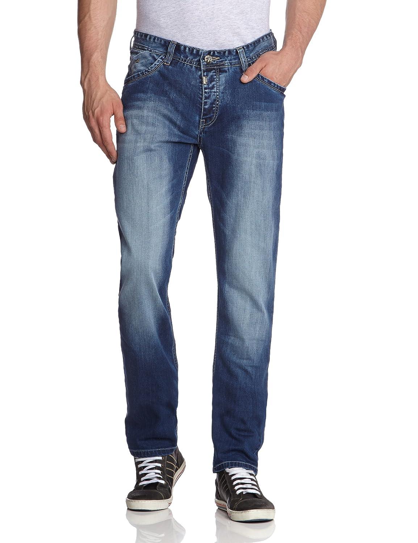 Timezone Herren Jeans Normaler Bund 26-5451 CostelloTZ 3537 blue bay wash