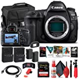 Canon EOS 5D Mark IV DSLR Camera (Body Only) (1483C002) + 64GB Memory Card + Case + Corel Photo Software + LPE6 Battery + Ext