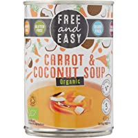 Free & Easy Carrot & Coconut Soup, 400g