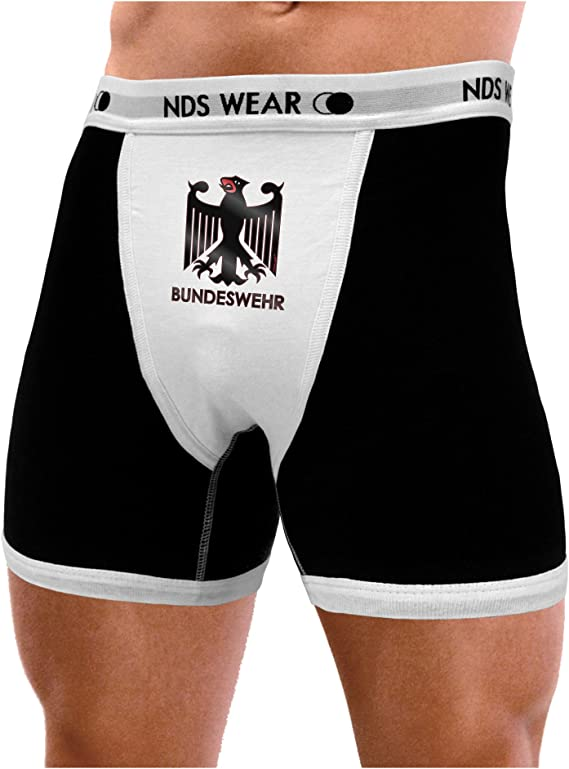 TOOLOUD Bundeswehr Logo with Text Boxer Briefs