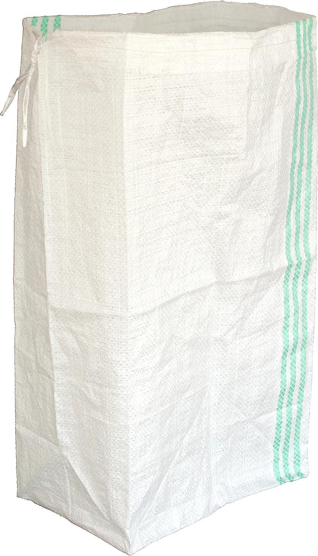 台風の備えに 水害対策に四角い新土嚢袋200枚入り 止水壁設置 汚泥処理袋 新縦置き用「角型土のう袋白PE 200枚」浸水防止対策 便利グッズ【実用新案登録品】 B01J4TA6ME