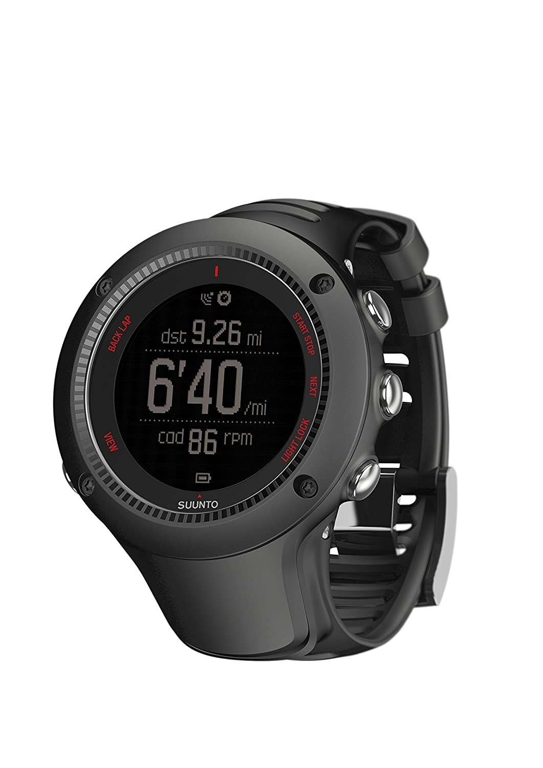 Black One Suunto Ambit3 Run Sports Watch