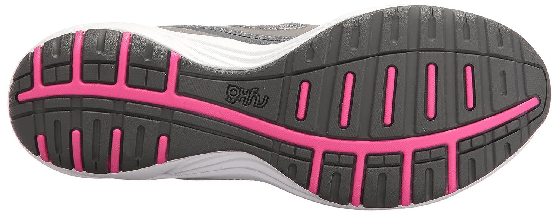Ryka Women's Dash 3 Walking Shoe B01KWEYKCM 10.5 W US|Grey/Pink