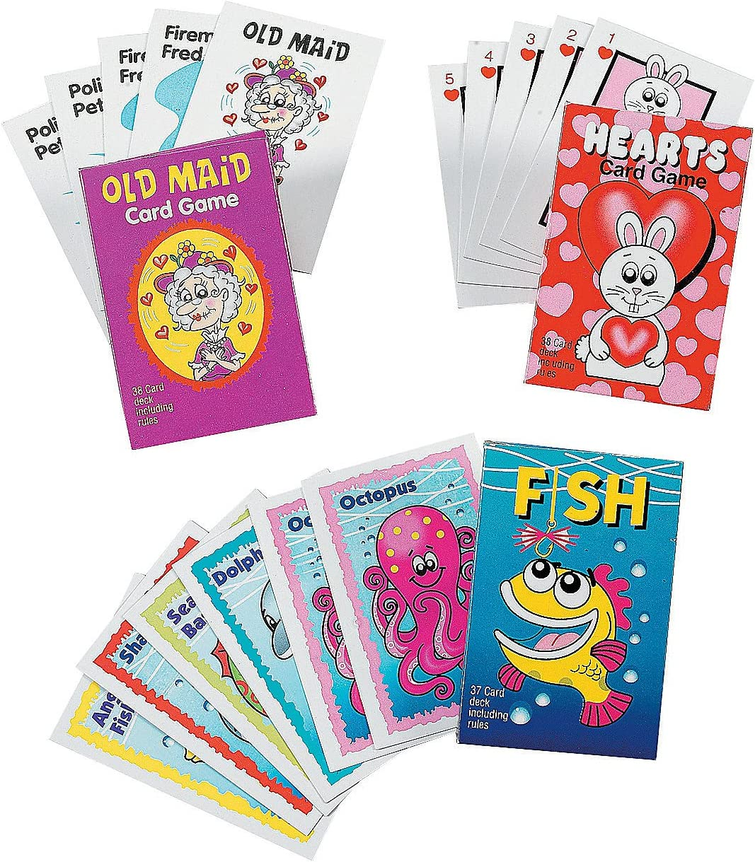 NEW rules Hearts Card Game 38 card deck