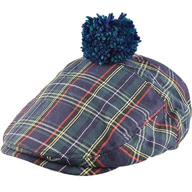 Tartan Flat Cap Major Wear FDTwfOG
