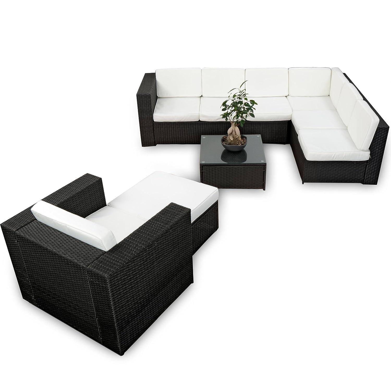 Amazon.de: XINRO XXL 22tlg. Gartenmöbel Lounge Set günstig + 1x (1er ...